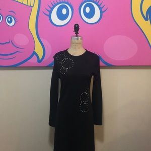 Eve Le Cog Black Vintage Long Dress 1960s